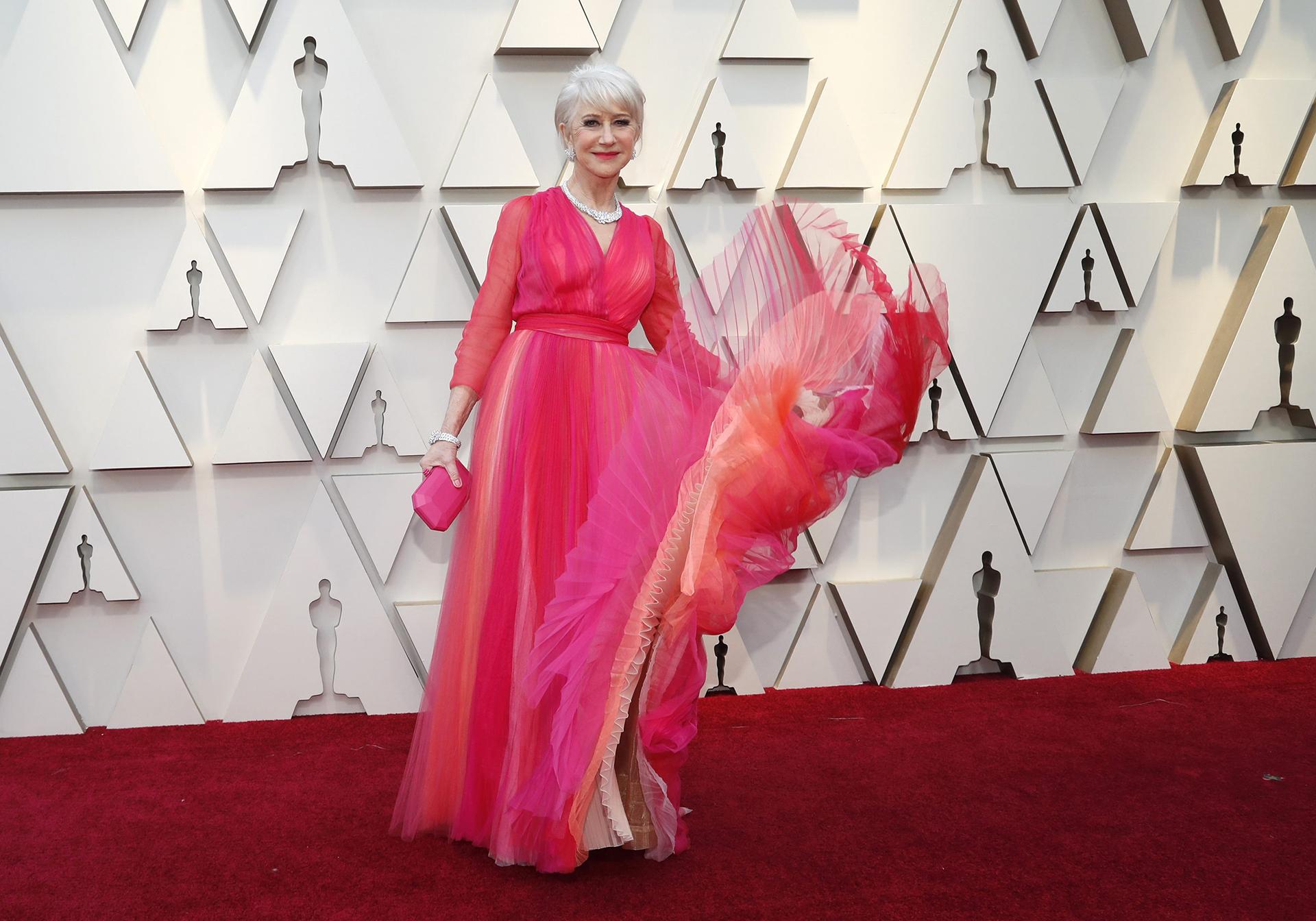 El rosa también fue el color preferido por Sarah Paulson 64588d944a6