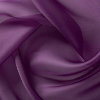 Purple doris organza saten