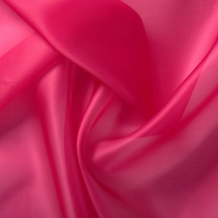 Acid fuxia doris organza saten