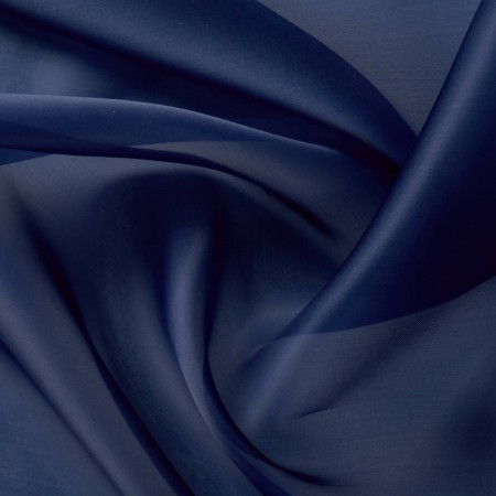 Doris organza saten navy