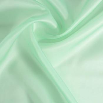 Doris organza saten verde agua