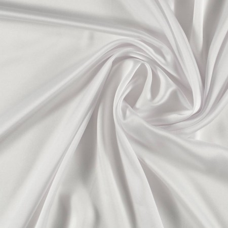 Estefania crep satÉn blanco