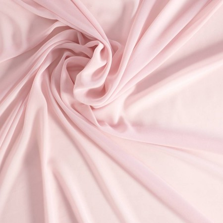 Pale pink danubio  georgette