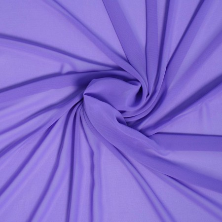 Dark purple danubio  georgette