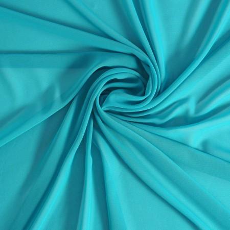 Turquoise danubio  georgette