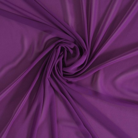 Purple danubio  georgette
