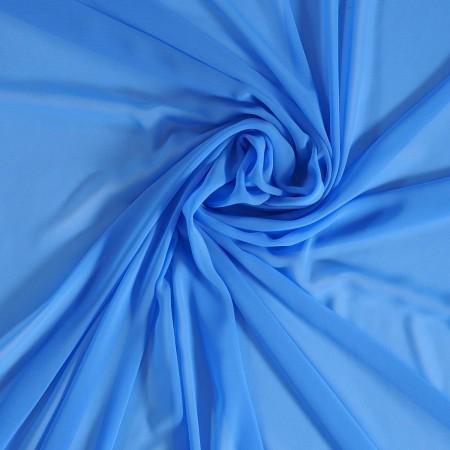 Danubio  georgette azul