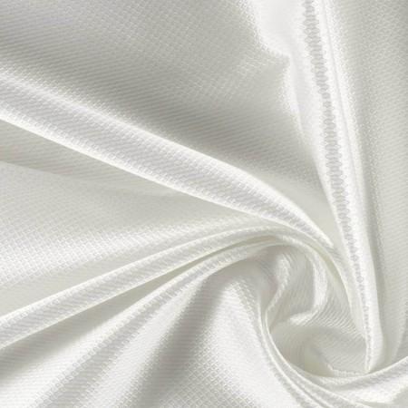 Geometric white jacquard