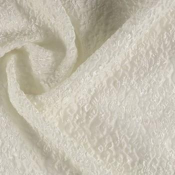 Ivory jacquard flor = 75336