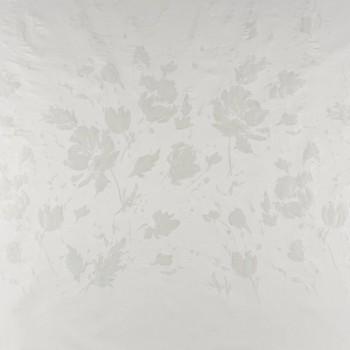 Ivory jacquard flor