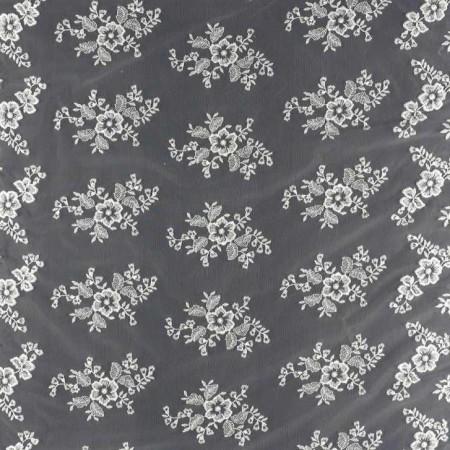 Bordado flor doble cenefa blanco=75029-001