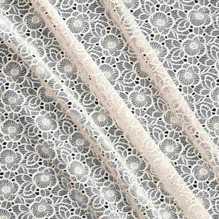 Ivory fantasia coton