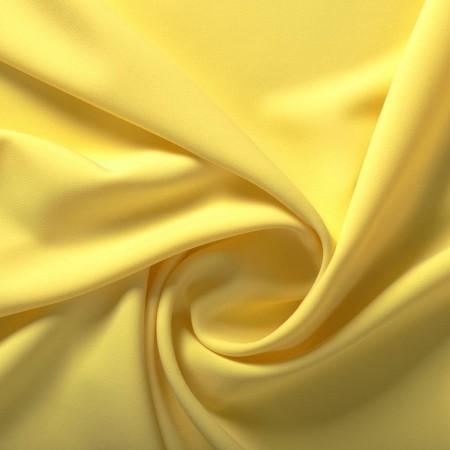 Yellow ebro doble crepe stretch