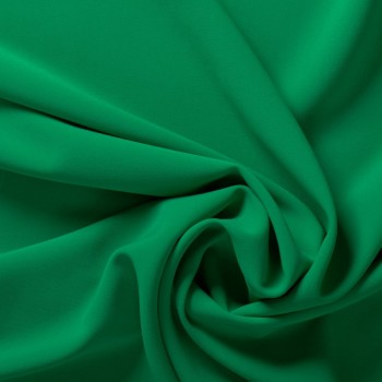 Green ebro doble crepe stretch
