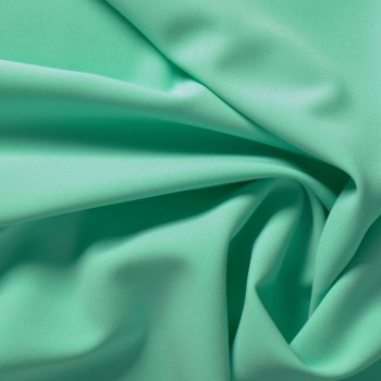 Mint green ebro doble crepe stretch