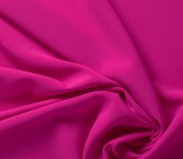 Fuchsia ebro doble crepe stretch