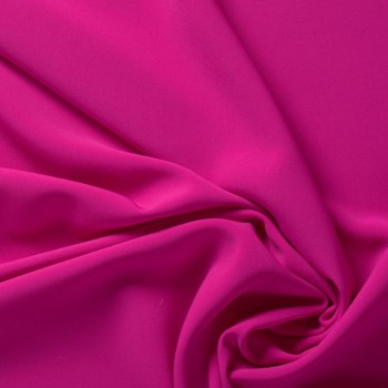 Ebro doble crepe stretch fucsia Ácido