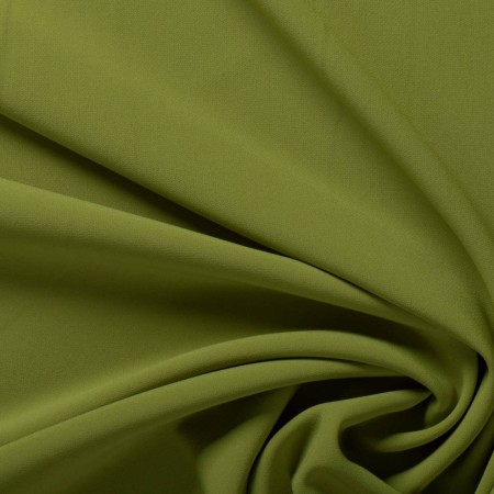 Olive ebro doble crepe stretch