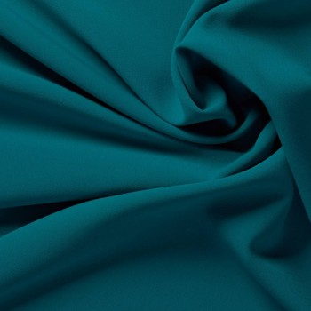 Dark turquoise ebro doble crepe stretch
