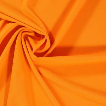 Ebro doble crepe stretch naranja medio