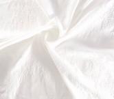 White jacquard flor
