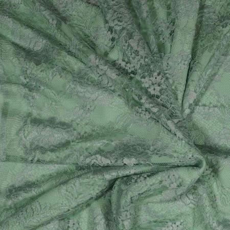 Ligth green dentelle cabaret