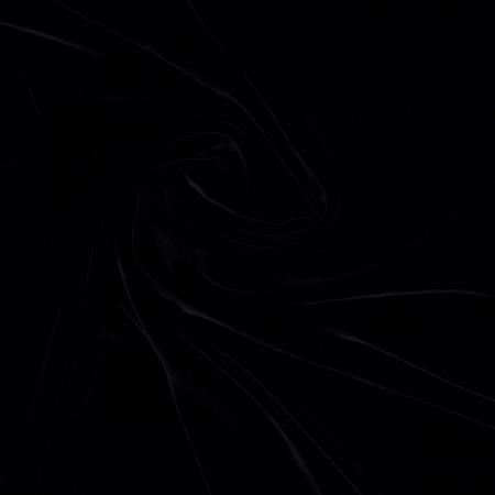 Terciopelo de viscosa/seda negro