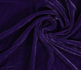 Purple liso velvet
