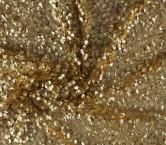 Fantasia lentejuelas beige/ oro