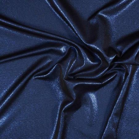 Jacquard lamÉ azul