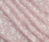 Pink rebrode lace