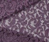 Plum rebrode lace