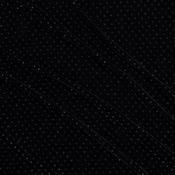 Black velvet with stones