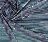 Green plisado foil fluÍdo