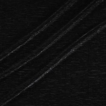 Plisado irregular foil negro