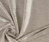 Plisado irregular foil beige