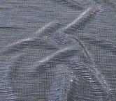 Plisado irregular foil azul