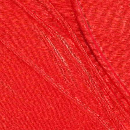 Plisado irregular foil rojo