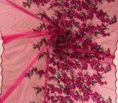 Bordado fantasia lila