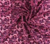 Guipur multicolor hojas rosa