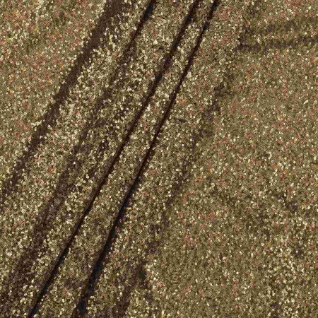 Old gold micro lentejuela irre