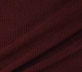 Jacquard de lana con diseÑo de rombos rojo