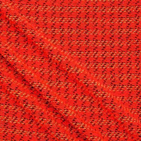 Tweed con hilatura gruesa rojo