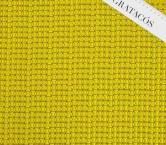 Jacquard geomÉtrico efecto 3d amarillo