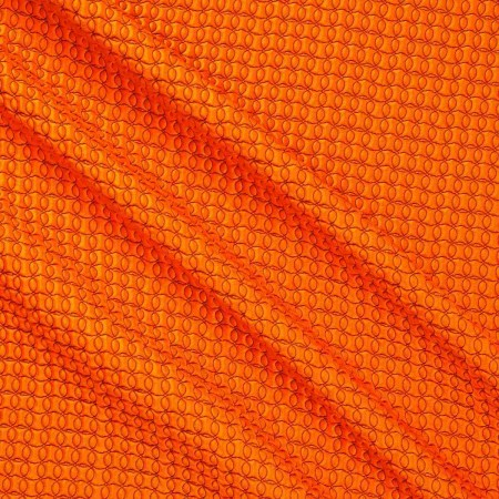 Jacquard geomÉtrico efecto 3d naranja
