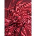 Ligera y suave tafeta rojo