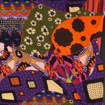 Dis.f563 crep s/177 fuxia violeta naranja