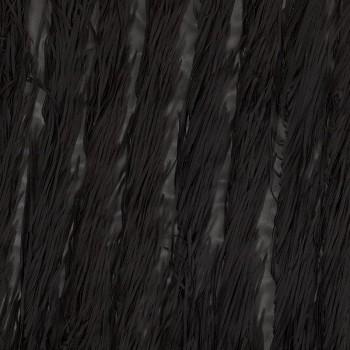 Fantasia flecos negro