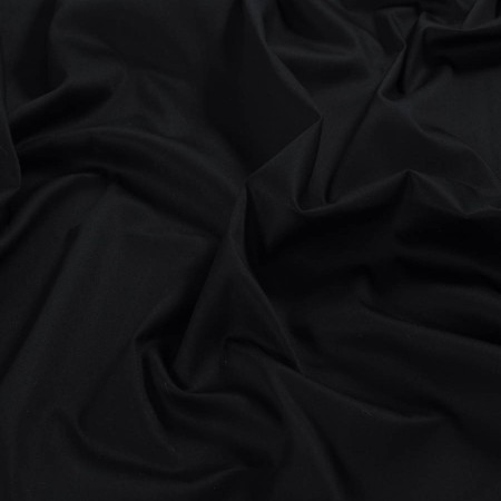 Dallas raso algodÓn stretch negro