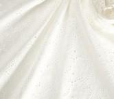 White bordado algodon